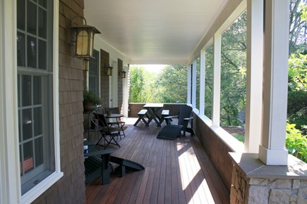 Eastham Cape Cod vacation rental - Porch ~ Back Yard