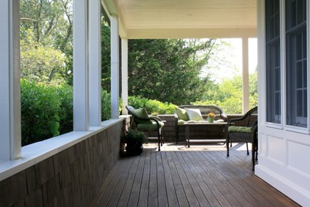 Eastham Cape Cod vacation rental - Front Porch ~ Seating