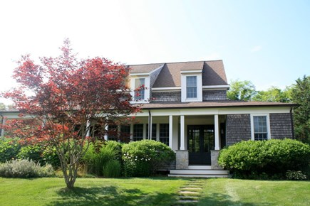 Eastham Cape Cod vacation rental - Front (from Circular Driveway)
