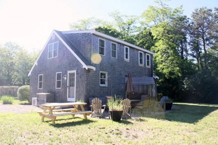 Eastham Cape Cod vacation rental - Back yard