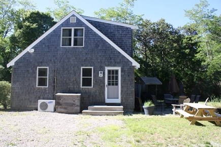 Eastham Cape Cod vacation rental - Side of house