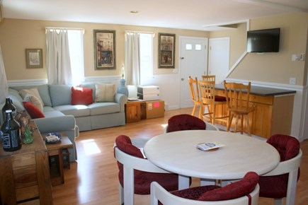 Eastham Cape Cod vacation rental - Dining and living area
