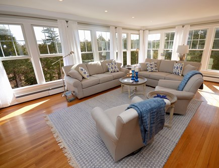 Orleans, MA Cape Cod vacation rental - Bright & spacious living room with windows all around