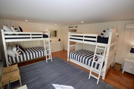 Orleans, MA Cape Cod vacation rental - Spacious bunk room with two bunks, both with addt'l twin trundles