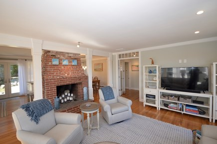 Orleans, MA Cape Cod vacation rental - Light filled living room off kitchen