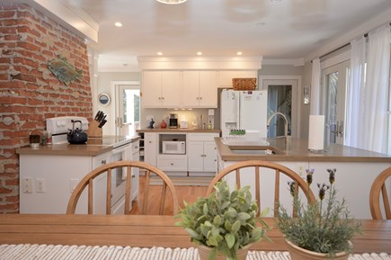 Orleans, MA Cape Cod vacation rental - View of kitchen from dining area
