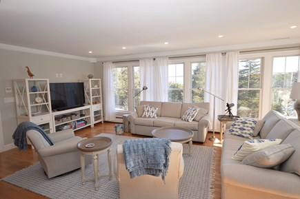 Orleans, MA Cape Cod vacation rental - Gorgeous light filled living room with plenty of seating and flat