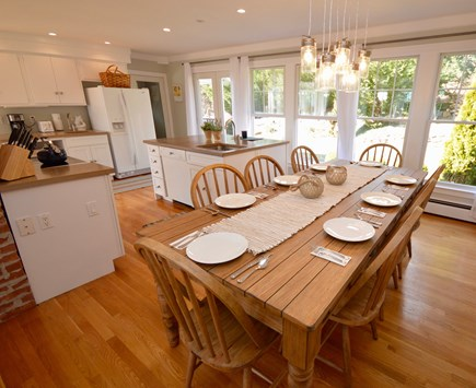 Orleans, MA Cape Cod vacation rental - Dining area opens up to back patio