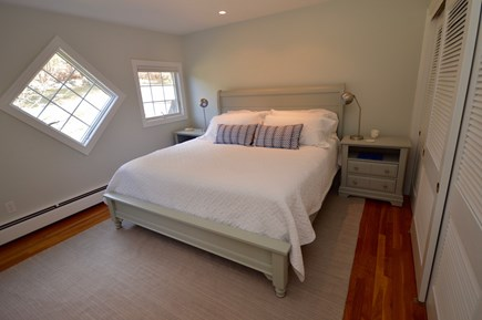 Orleans, MA Cape Cod vacation rental - Master bedroom with King bed and lots of light on main floor