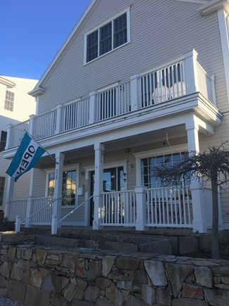 Hyannis Cape Cod vacation rental - Front view, apartment is on 2nd floor with view