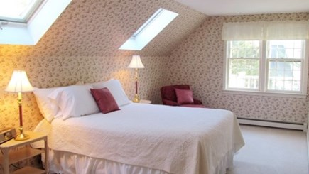 Falmouth, Old Silver Beach Cape Cod vacation rental - Guest bedroom with queen sized bed