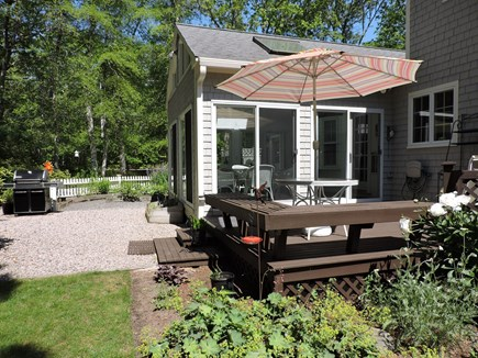 Falmouth, Old Silver Beach Cape Cod vacation rental - Enjoy Outdoor Dining