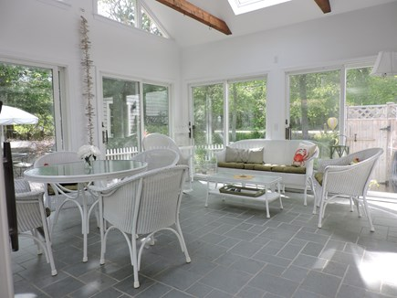Falmouth, Old Silver Beach Cape Cod vacation rental - Nice Bright Family Room Off the Back