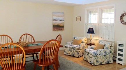 Falmouth, Old Silver Beach Cape Cod vacation rental - Dining area