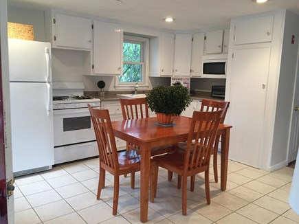 South Yarmouth Cape Cod vacation rental - Eat-in Kitchen Area