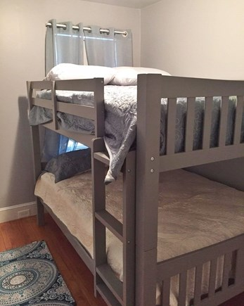 West Yarmouth Cape Cod vacation rental - Bedroom #3 full size bunks