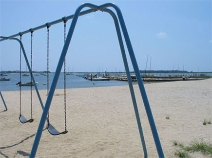 West Yarmouth Cape Cod vacation rental - Playground area at Englewood Beach