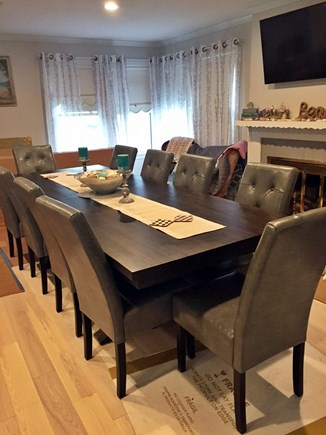 West Yarmouth Cape Cod vacation rental - Large Dining Room seats 8-10 people