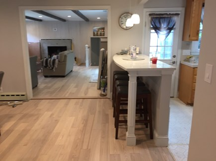 West Yarmouth Cape Cod vacation rental - Kitchen Breakfast counter
