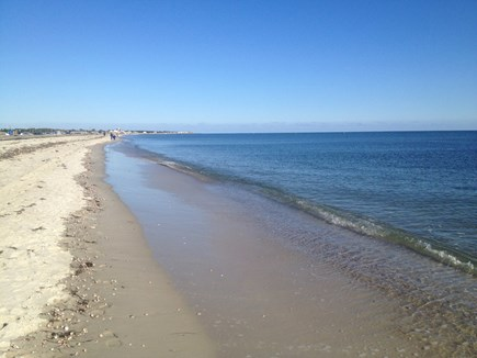 West Dennis Cape Cod vacation rental - West Dennis Beach is only a 3 minute drive away!
