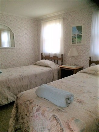 West Dennis Cape Cod vacation rental - Bedroom #2 with 2 extra-long twin beds