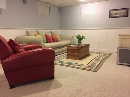 Provincetown Cape Cod vacation rental - TV Room