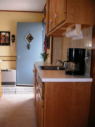 Beach Point / North Truro Cape Cod vacation rental - Galley style kitchen