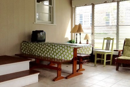 N Falmouth Cape Cod vacation rental - Dining area