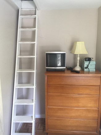 N Falmouth Cape Cod vacation rental - Ships ladder to Loft