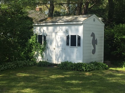 N Falmouth Cape Cod vacation rental - Shed
