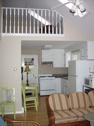 N Falmouth Cape Cod vacation rental - Kitchen/LR/ Loft