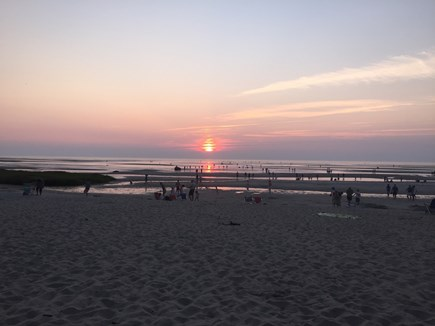 Brewster Cape Cod vacation rental - Sunset on Cape Cod Bay