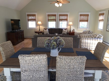 Brewster Cape Cod vacation rental - Great Room with both living and dining areas