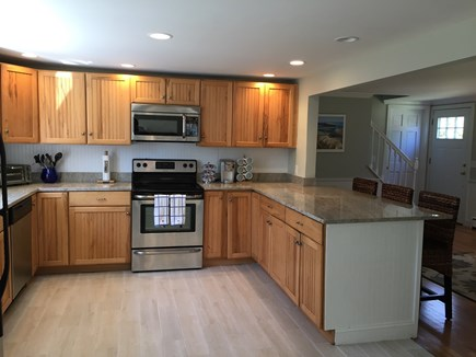 Brewster Cape Cod vacation rental - Updated kitchen with granite counters