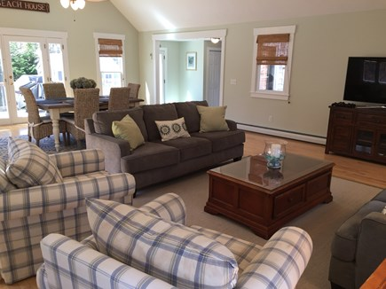 Brewster Cape Cod vacation rental - Great Room with access to large deck