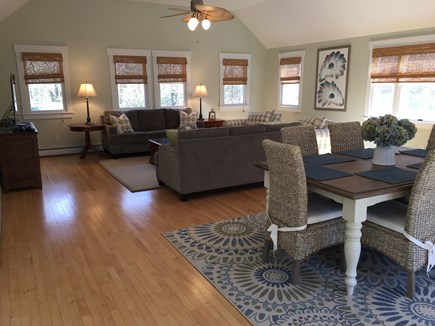 Brewster Cape Cod vacation rental - Spacious Great Room with cathedral ceiling