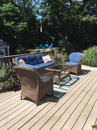 Brewster Cape Cod vacation rental - View of deck