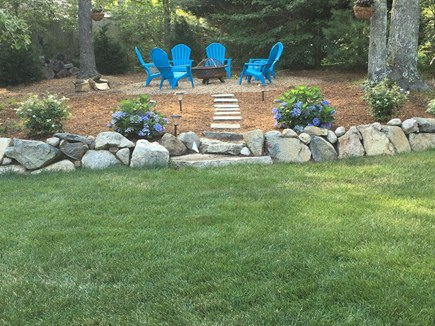 Brewster Cape Cod vacation rental - Firepit area