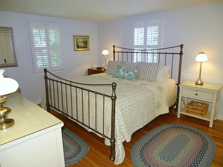 Orleans Cape Cod vacation rental - Master bedroom with King bed, private bath, flat screen TV