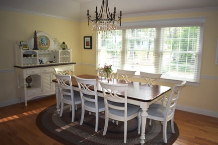 Wellfleet Cape Cod vacation rental - Dining Room (extends to seat 10)
