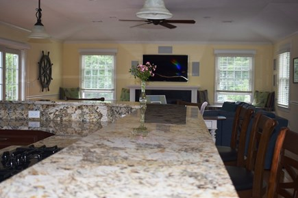 Wellfleet Cape Cod vacation rental - Kitchen Counter Bar - Seats 6