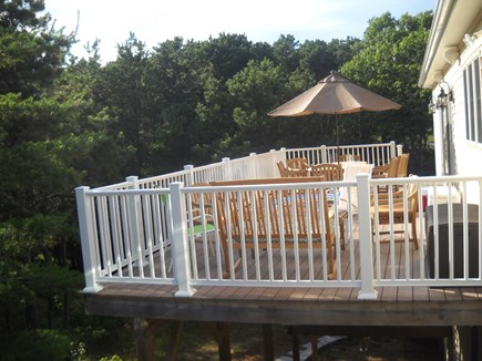 Wellfleet Cape Cod vacation rental - Top Floor Spacious Deck
