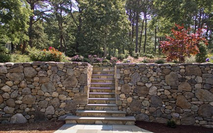 Wellfleet Cape Cod vacation rental - Front Door Walkway Steps