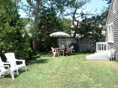 West Dennis Cape Cod vacation rental - Enjoy some privacy relaxing in the yard!