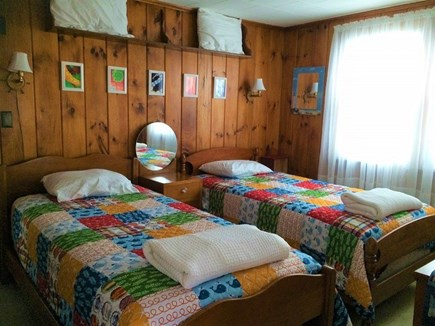 West Dennis Cape Cod vacation rental - Bedroom with two twin beds