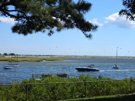 South Yarmouth Cape Cod vacation rental - Spectacular panoramic views of boats, windsurfers, kiters & more