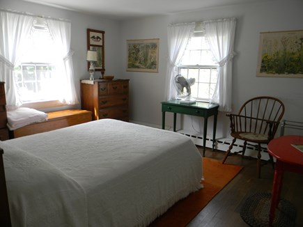 South Yarmouth Cape Cod vacation rental - Main bedroom w/double bed & adjacent full bath on 1st floor