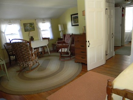 South Yarmouth Cape Cod vacation rental - 2nd bedroom w/double bed & water view sitting area upstairs