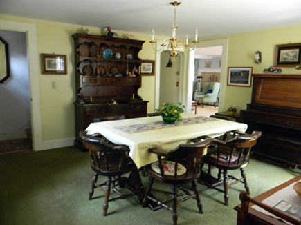 South Yarmouth Cape Cod vacation rental - Dining room with a piano for your entertainment