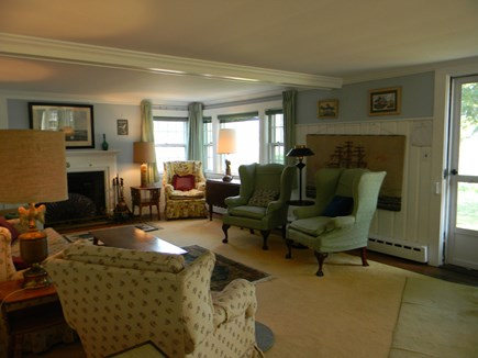 South Yarmouth Cape Cod vacation rental - Family room extends entire length of home. Great views